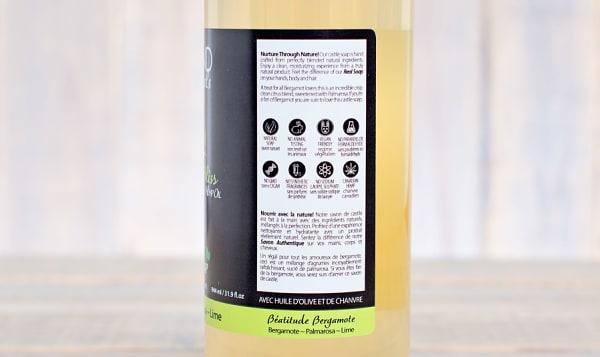 Bergamot Bliss (Bergamot Palmarosa Lime) Castile Soap