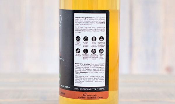 For Thaves Chai (Cinnamon Eucalyptus Lemon) Castile Soap