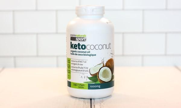 Organic Sport Ketococonut - 100% Pure Coconut Oil