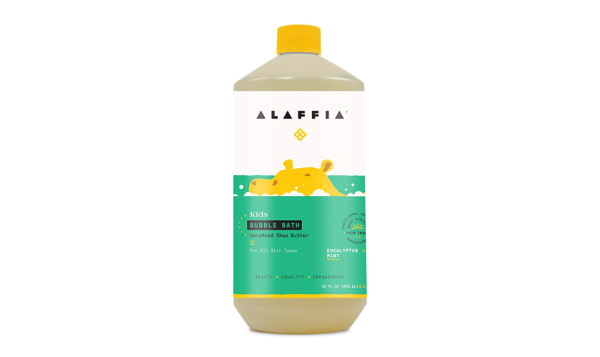 Babies & Kids Shea Bubble Bath - Comforting Eucalyptus Mint