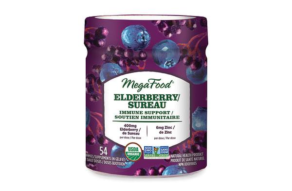Organic Elderberry Immune Support Gummies - Berry