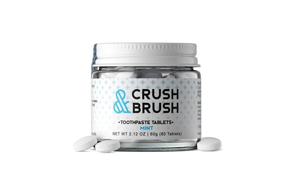 Crush and Brush - Mint