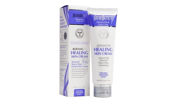 SilverSol Skin Cream - Natural Lavender