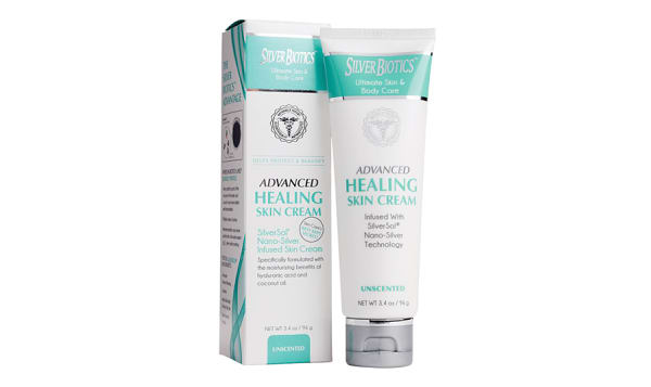 SilverSol Skin Cream - Unscented