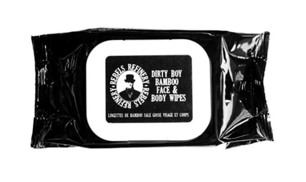 Dirty Boy Bamboo Face & Body Wipes