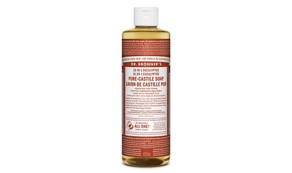 18-in-1 Hemp Pure-Castile Soap - Eucalyptus