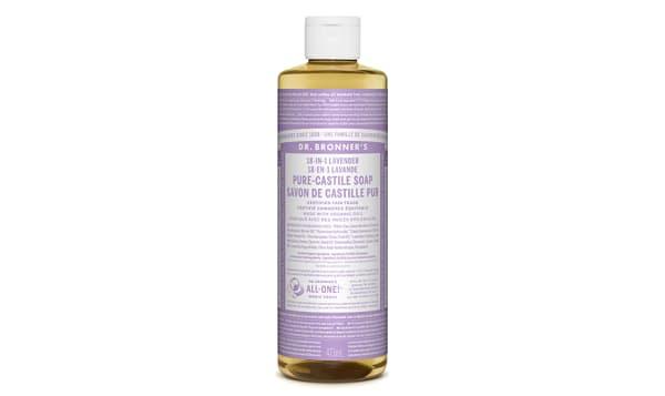 18-in-1 Hemp Pure-Castile Soap - Lavender