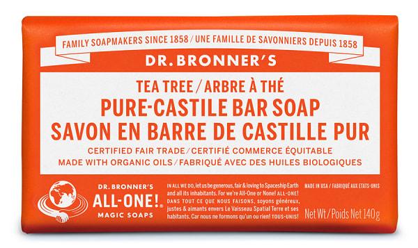 Pure-Castile Bar Soap - Tea Tree