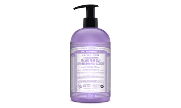 4-in-1 Organic Sugar Soap - Lavender