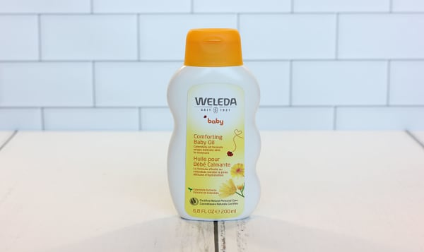 Organic Comforting Calendula Baby Oil