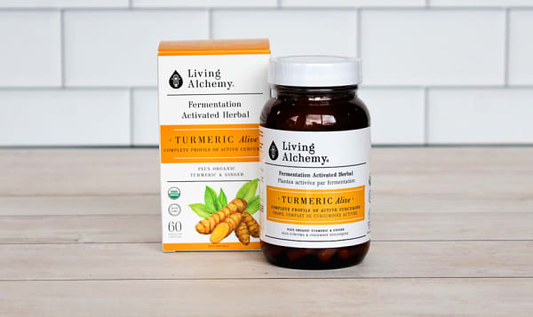 Organic Turmeric Alive
