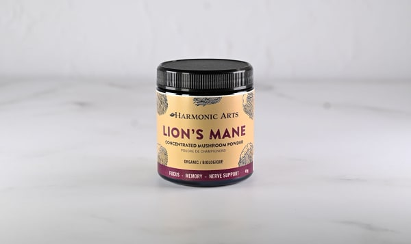 Organic Lions Mane Concentrated Mushroom Powder