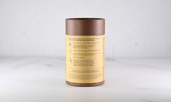 Organic 5 Mushroom Hot Chocolate Elixir Blend