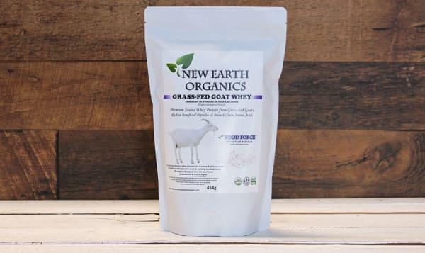 OrganicGrass-Fed Goat Whey