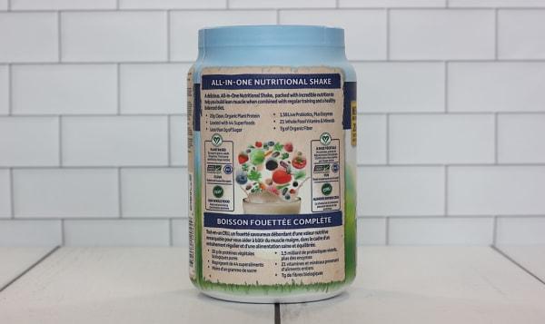 Organic RAW All-In-One Shake - Vanilla