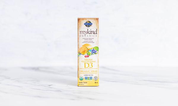 Organic Vitamin D3 Org Vanilla Spray