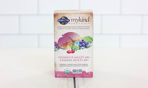 Organic Multivitamin Women 40+