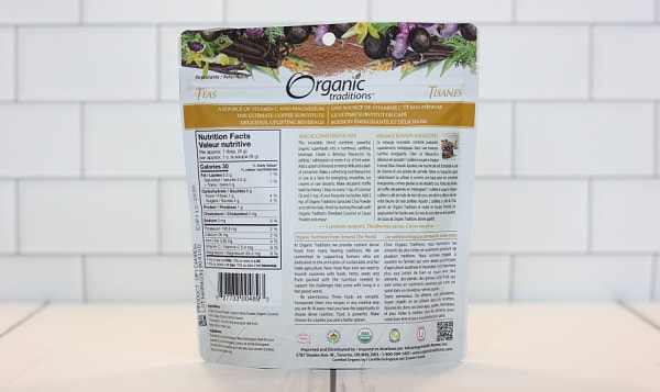 Organic Maccaccino Drink Mix