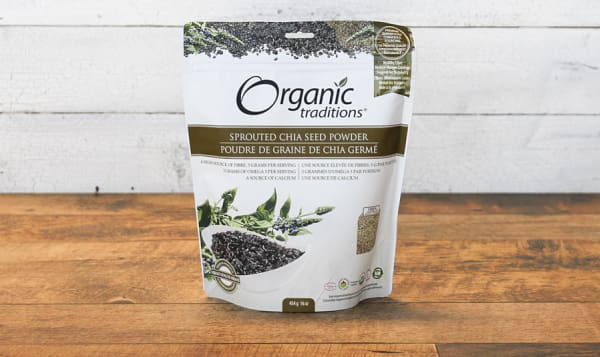 Organic Sprouted Chia Seed Powder