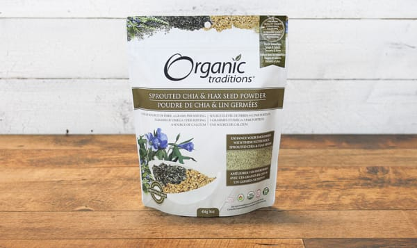 Organic Sprouted Chia & Flax Seed Powder