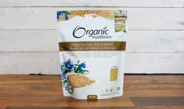 Organic Sprouted Flax Powder