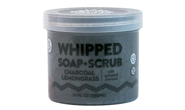 Whipped Soap - Charcoal Lemongrass