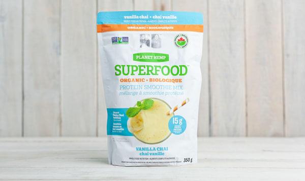 Organic Vanillia Chai Protein Smoothie Mix