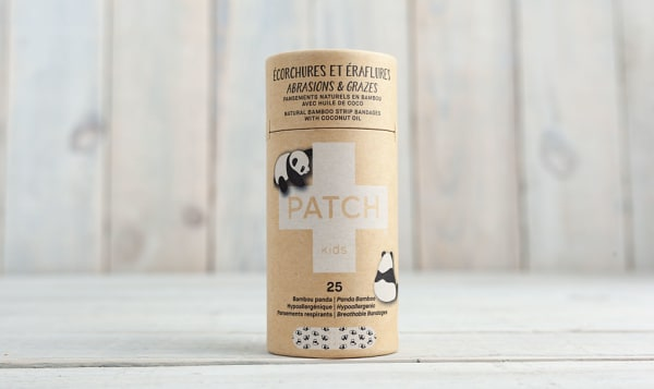 Organic Coconut Oil Kids Adhesive Bandages