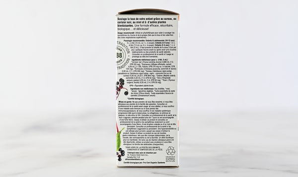 Organic Elderberry Cough Syrup - Kids
