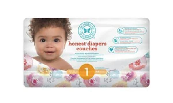 Diapers; Size 1; Rose Blossom