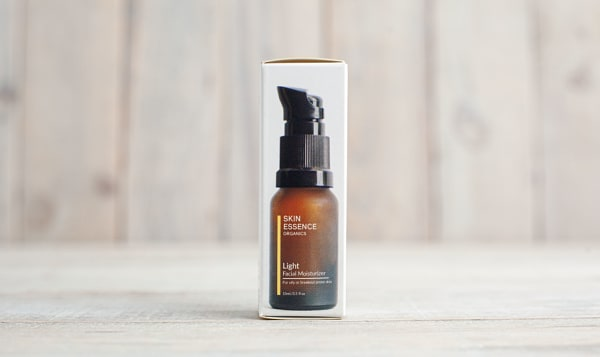 Organic Light Facial Moisturizer For Acne &/Or Oily Prone Skin  (Travel Size)