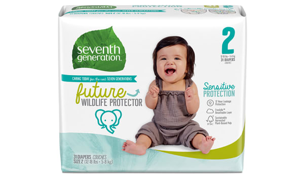 Disposable Diapers (Stage 2) 5-8 kg, 12-18 lbs