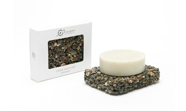 Stone Soap Plate - Slate