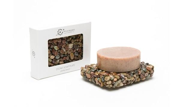 Stone Soap Plate - Roan