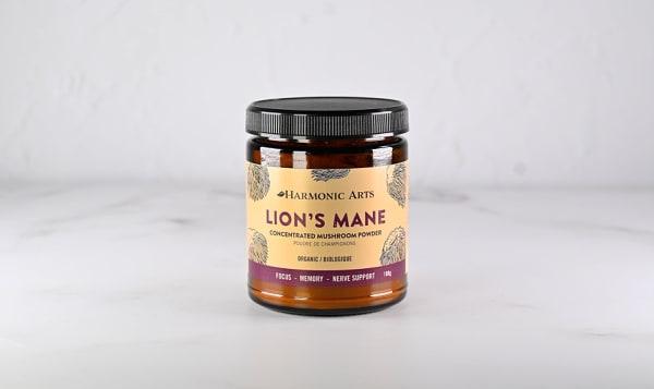 Organic Lions Mane Concentrated Mushroom Powder