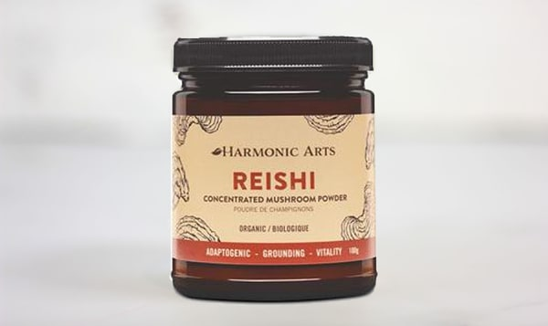 Organic Reishi Concentrated Mushroom Powder