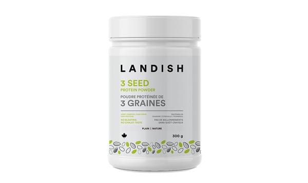 3 Seed Protein Powder - Plain