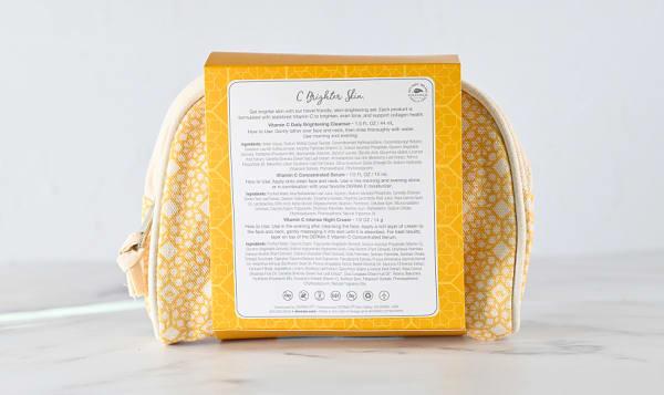 Clean Beauty Travel Kit- Brighten & Go