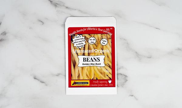 Beans, Golden Wax Bush, Seed