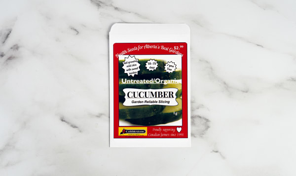 Cucumber Gardern Reliable, Slicing, Seed