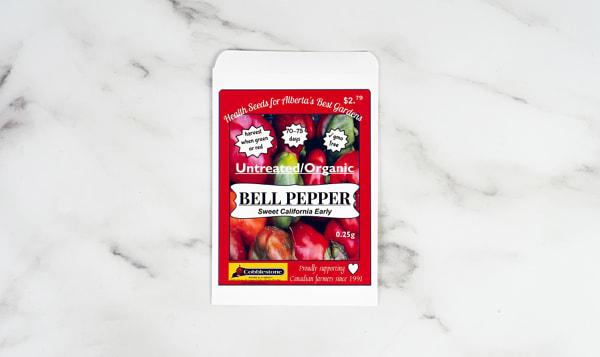 Pepper Bell, California, Seed