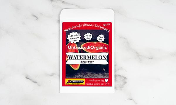Watermelon Sugar Baby, Seed
