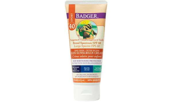 Organic SPF 40 CLEAR Kids Sunscreen