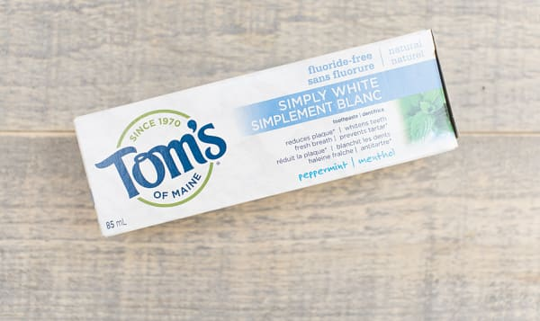 Simply White Peppermint Toothpaste