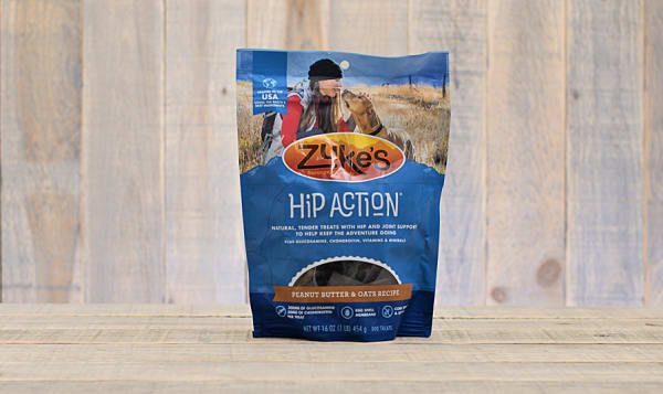 Peanut Butter & Oat Hip Action Treats