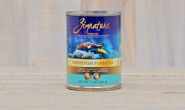 Whitefish Canned Dog Food