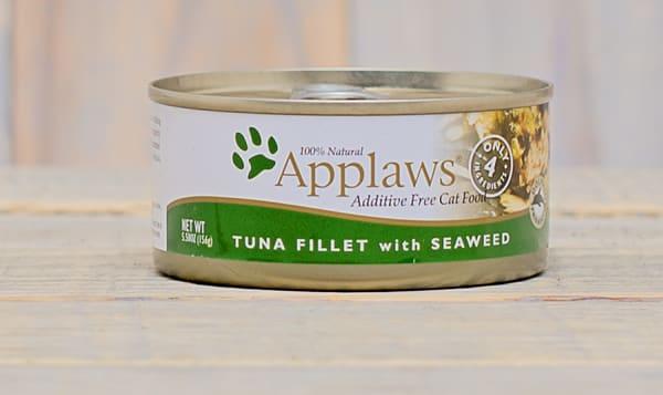 Tuna w/ Seaweed Cat Food