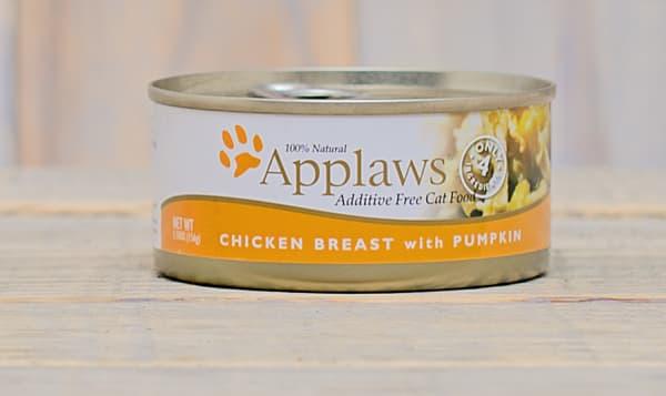 Chicken with Pumpkin Cat Food