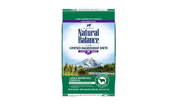 Limited Ingredient Diet - Lamb & Brown Rice Formula for Large Breeds
