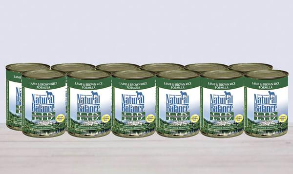 Limited Ingredient Diet - Lamb & Brown Rice Dog Formula - CASE